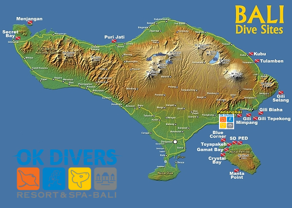 ... Bali Indonesia Location Map - Bali Weather Forecast and Bali Map Info
