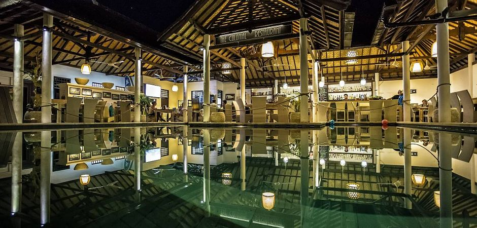 The Colonial Restaurant OK Divers Bali Padangbai