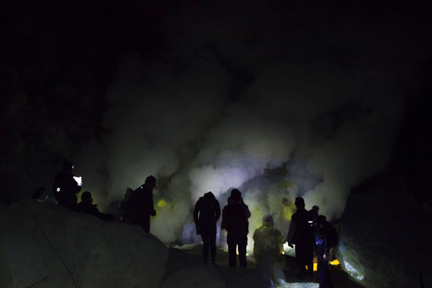 Kawah Ijen - breathtaking volcano in Indonesia
