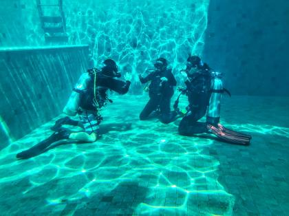 OK Divers Scuba Diving Swimming pool
