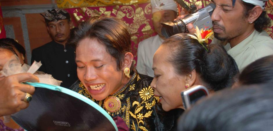 Tooth-filing ceremony Bali