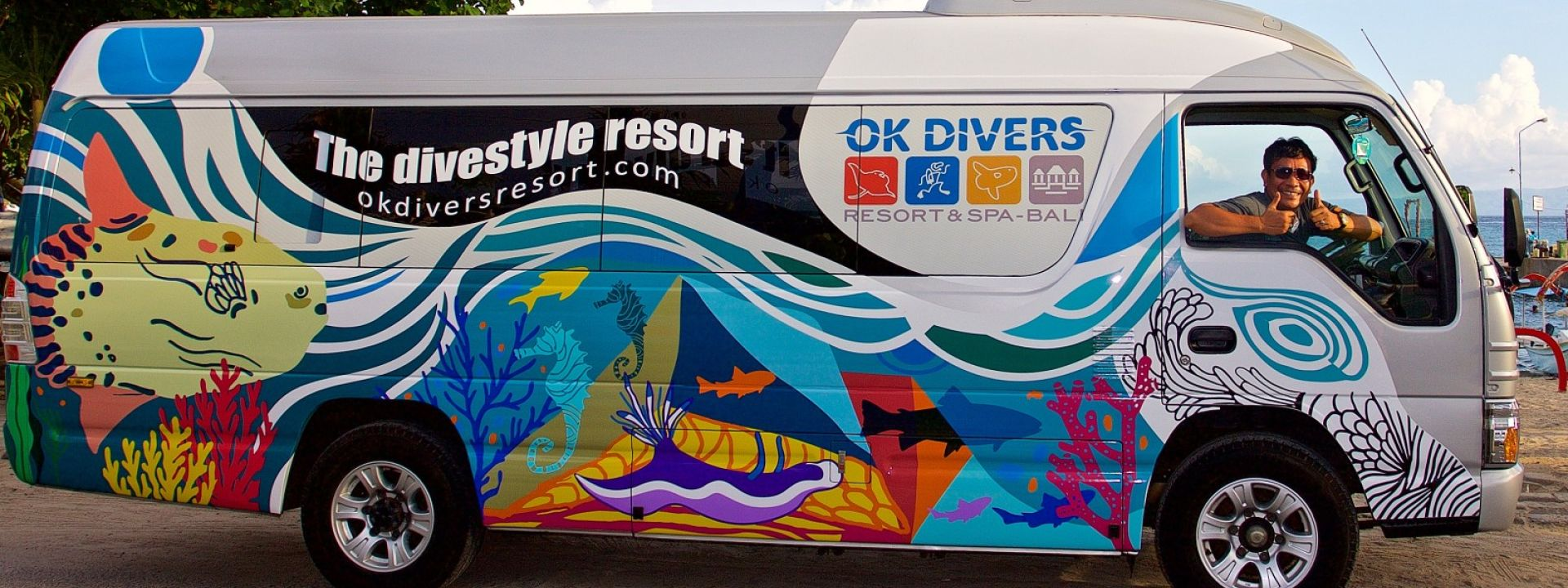 OK Divers Bali Diving Bus Transport