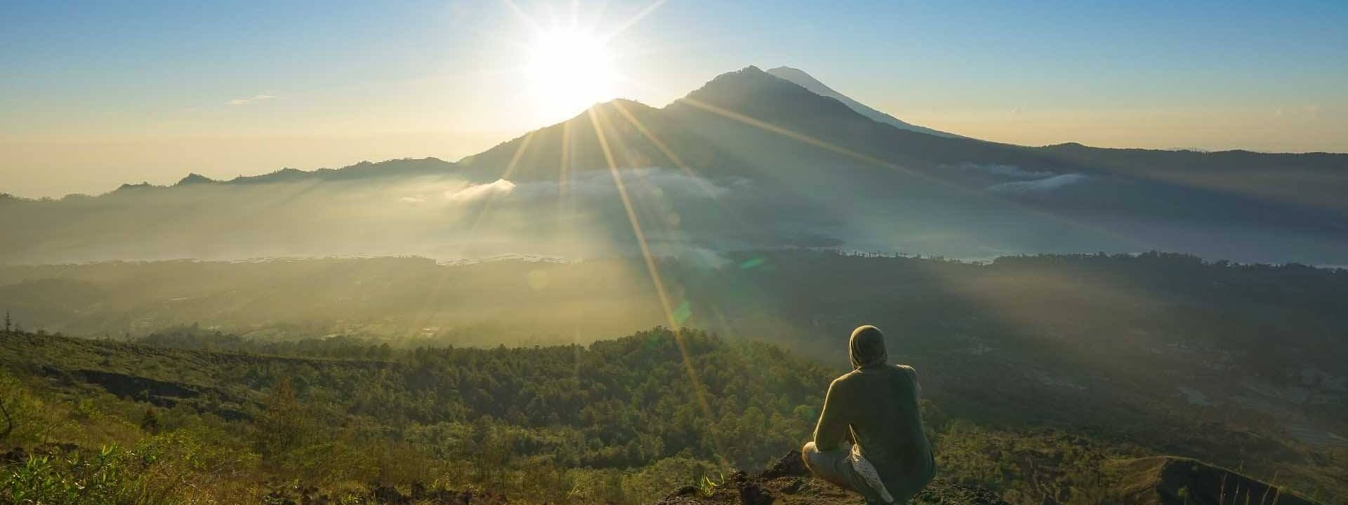 See sunrise at Mount Agung with Trekking Tour