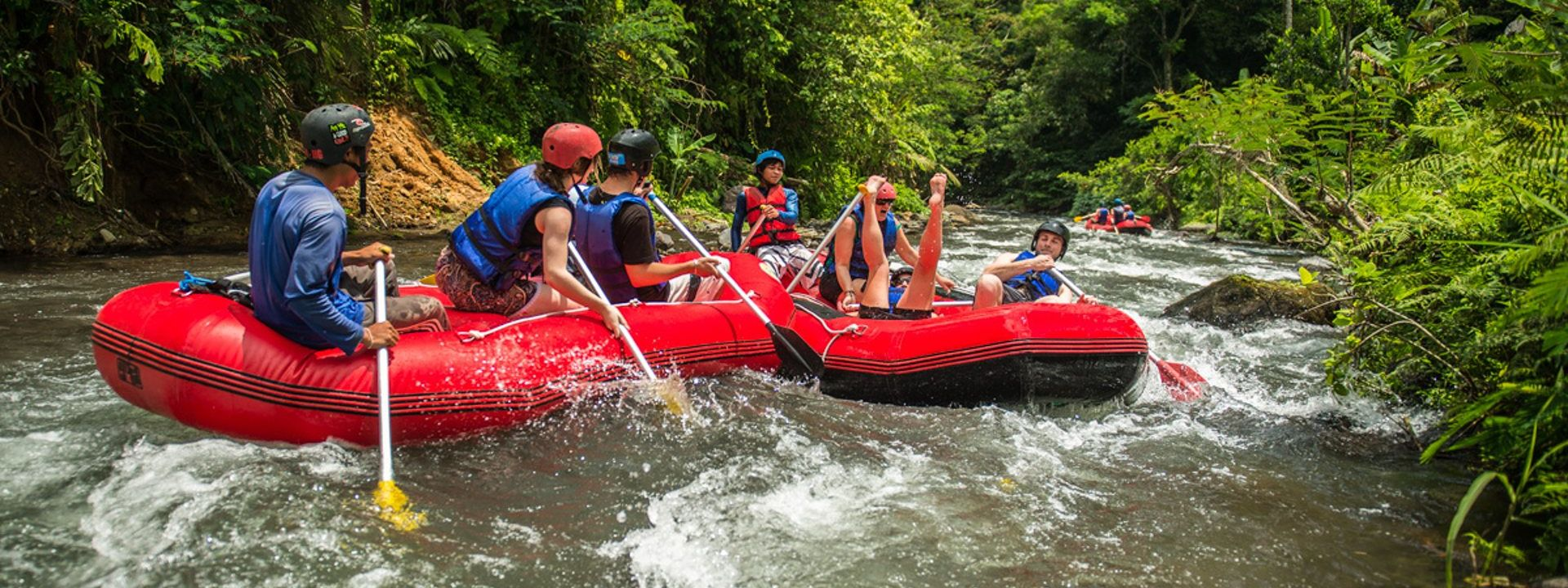 River Rafting Bali Holiday Land Tour